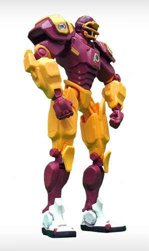 NFL Washington Redskins Fox Sports Team Robot, 10-inches