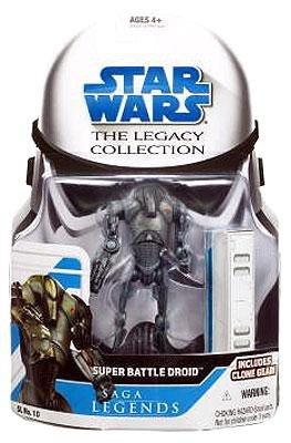 super battle droid star wars saga legends assortment fi (style and colors may vary)