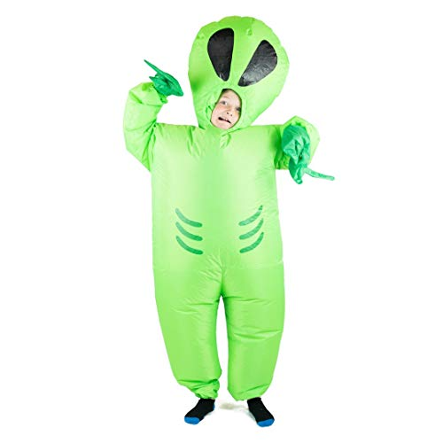 Bodysocks Kids Inflatable Alien Fancy Dress Costume]()