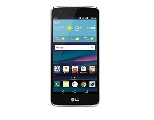 AT&T GoPhone LG Phoenix 2 SmartPhone – 4GLTE 8GB Memory Prepaid No Contract Locked cell Phone – Black