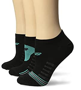 New Balance Unisex 3 Pack No Show Core Performance Socks