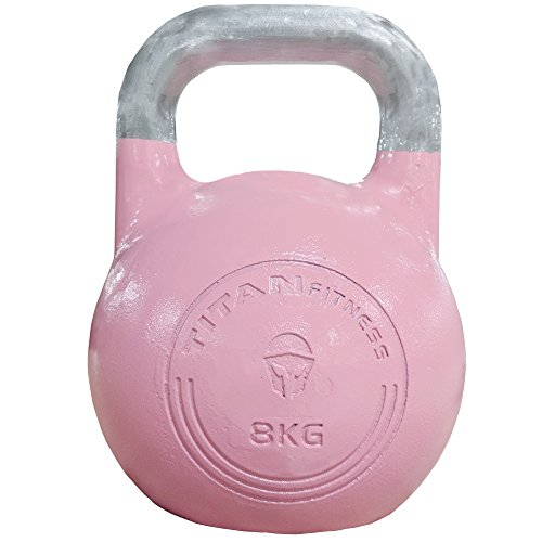 Titan Competition Style Kettlebell - 8 KG by Titan Fitness