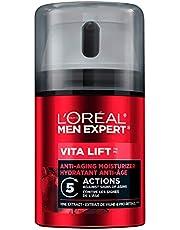 L'Oreal Paris Men Expert Vita Lift 5, Anti Aging Mens Face Moisturizer, with Pro-Retinol Formula, Targets And Reduces Wrinkles and Skin Dullness, 50ml