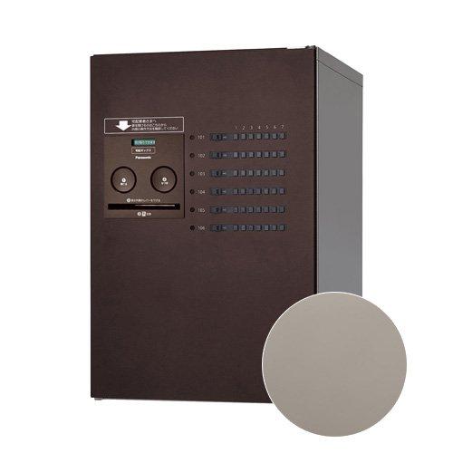 Panasonic 集合住宅用 宅配ボックス コンボ-メゾン ミドルタイプ [CTNR4620L] 左開き 共有使い6錠 パナソニック (ステンシルバー色) B07CSP4HNY