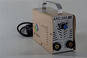 ARC Welder 200A MMA Stick DC 220V Inverter Welding Machine with Earth Clamp and Electrode Holder from SHENZHEN UNITWELD WELDING AND MOTOR CO., LTD