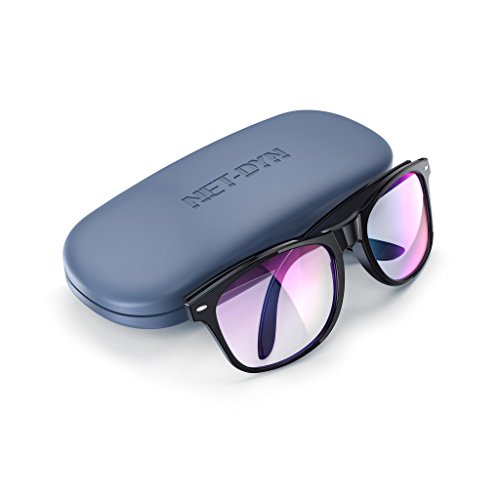Blue Light Blocking Glasses - Gamer Glasses, Filter Blue Light from LCD/LED Screen and Computer, Eyewear for Deep Sleep and Helps Prevent Eye Strain & Headaches