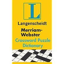 MerriamWebster Crossword Puzzle Dictionary