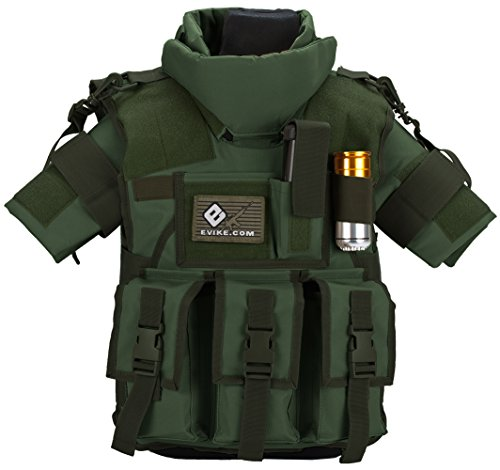 (Evike Matrix Tactical Systems High Speed S.D.E.U. Vest - Youth Size - Olive Drab Green - (44377) )