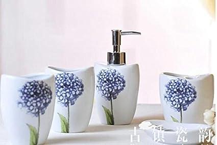 Bagno hjky set accessori jingdezhen ceramiche prodotti per bagno