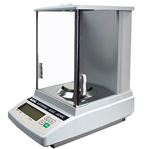 220g 0.0001g Analytical balance JJ224BC High-Precision Digital Balance Scale For Laboratory Pharmacy 220g/0.1mg 110v/220v (Pharmacy Balances)