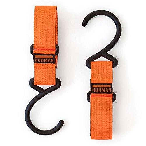 Hudman Works Strap & Hook, Bright Orange, 10
