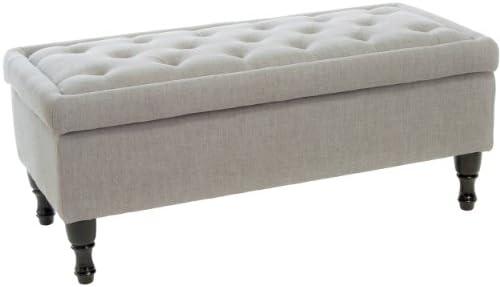 Best Selling Carolina Fabric Storage Ottoman