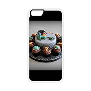 Dairy Milk Shortcake iPhone 6 Plus 5.5 Inch Cell Phone Case White J9885918