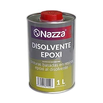 Disolvente para Epoxi Nazza   Para limpiar herramientas y productos con base epoxídica   Envase Metálico de 1 Litro: Amazon.es: Bricolaje y herramientas