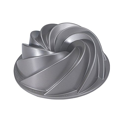 12 Cup Bundt Pan - Nordic Ware Platinum Collection Heritage Bundt Pan
