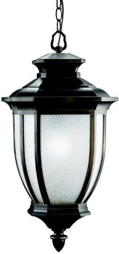Kichler 9843RZ, Salisbury Aluminum Outdoor Ceiling Lighting, 200 Total Watts, Rubbed Bronze