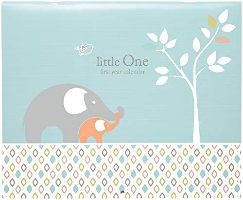 C.R. Gibson Elephant Blue Baby Calendar Milestone Stickers, 11'' W x 18'' H