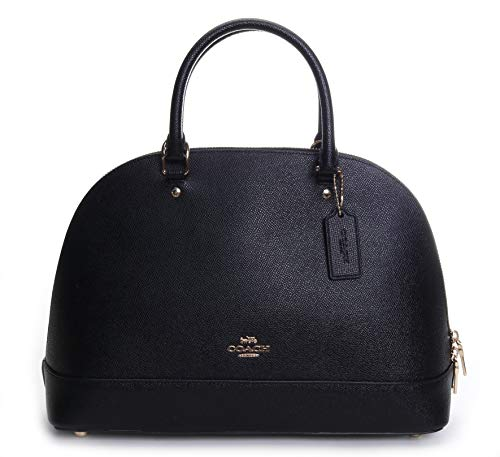Coach Women's Crossgrain Sierra Satchel No Size (Im/Black)