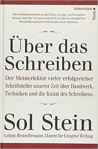 über Das Schreiben Amazonde Sol Stein Waltraud Götting Bücher
