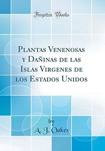 Plantas Venenosas Y Daninas De Las Islas Virgenes De Los Estados