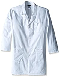 Cherokee Men's Big-Tall with Certainty 40 Inch Unisex Lab Coat in Twill
