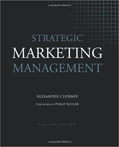 Amazon Com Strategic Marketing Management 9781936572151