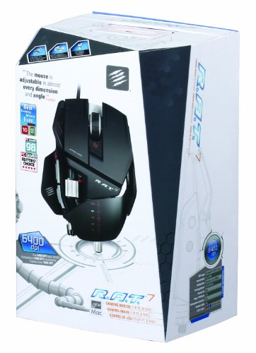 Mad Catz R.A.T.7 Gaming Mouse for PC and Mac