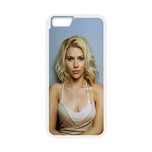 iPhone 6 4.7 Inch Cell Phone Case White hc67 scarlett johansson sexy dress actress Yewgf