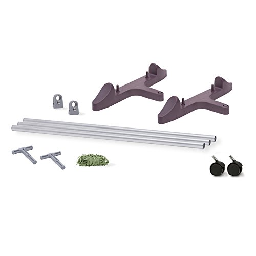 EarthBox 81036.06 System, Eggplant, 3 ft. Garden Stakes, 3',