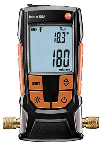 (Testo 552 - Digital Vacuum/Micron Gauge with Bluetooth (Part Number 0560 5522)