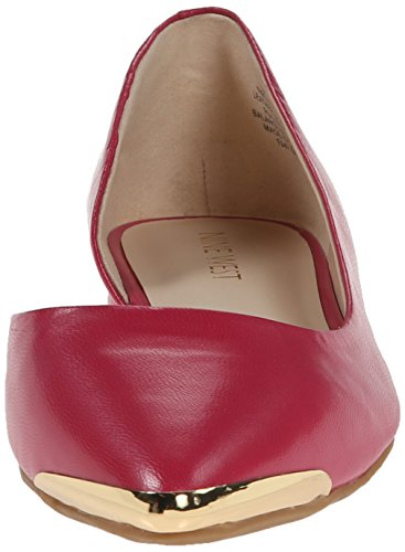 Ballet Flat West Women's Nine Pink Leather Overit IqxUFOg