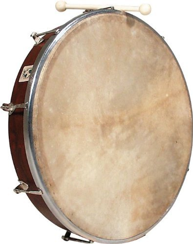 Latin Percussion WB239 World Beat 18-Inch Tunable Bodhran