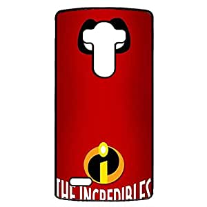 The Incredibles Signature Logo Phone case Does not affect the signal Cover for LG G4