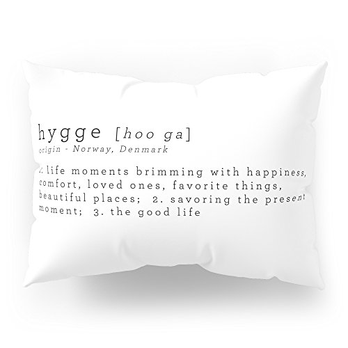 Society6 THE MEANING OF HYGGE Pillow Sham Standard (20