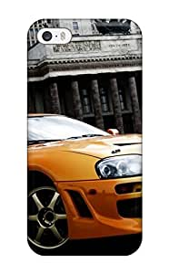 New Style 1704110K80328750 For Iphone 5/5s Tpu Phone Case Cover(toyota Supra 25)