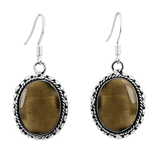 Smoky Quartz Sterling Earrings - 7