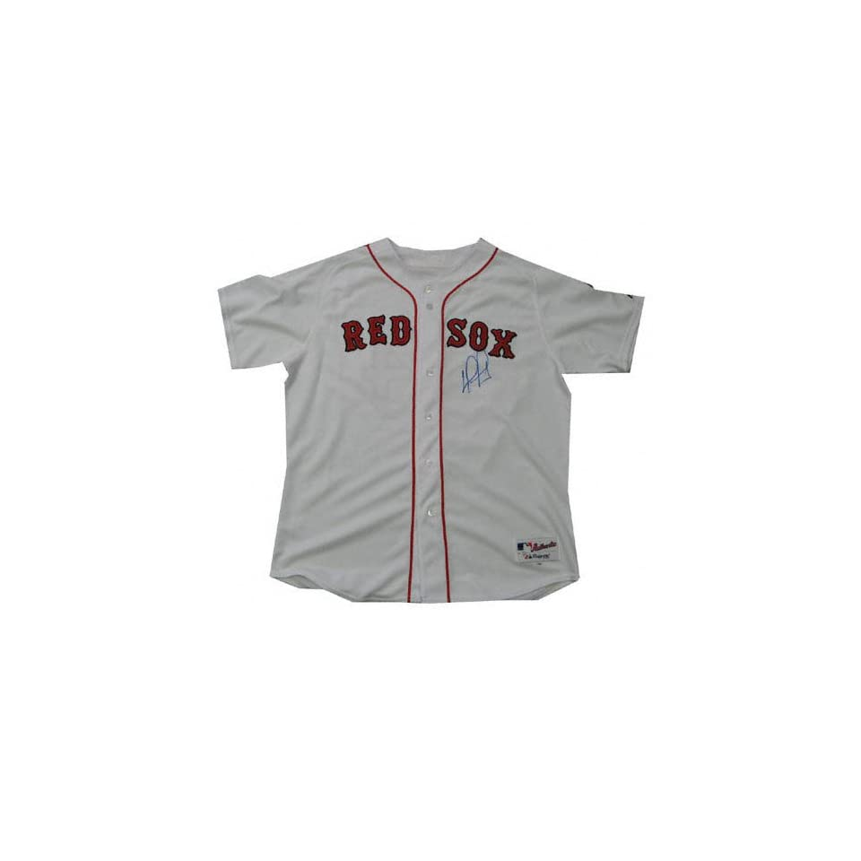 David Ortiz Autographed Authentic White Jersey  Sports