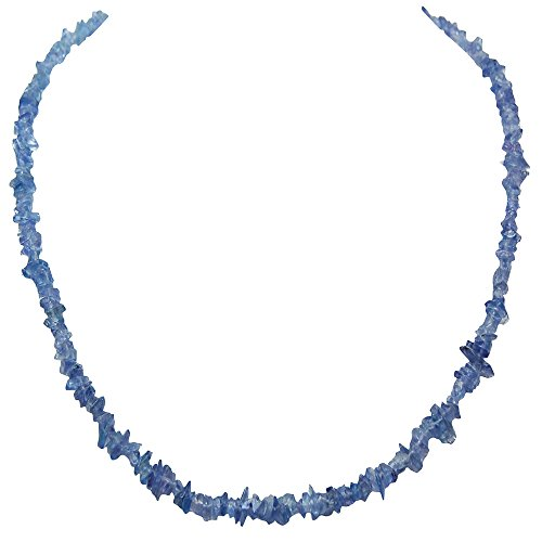 Tanzanite Chip - Tanzanite Tumbled Chips Necklace (India) (18