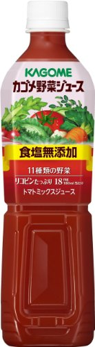 Kagome vegetable juice salt additive-free smart PET 720ml ~ 15 this by V8 100% Vegetable Juice, 11.5