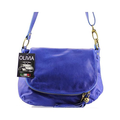 1385 OLIVIA de para Bleu mujer Bolso asas wUazY