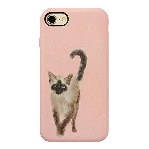 (【iPhone8/7/6s/6 Case】OOTD CASE for iPhone8/7/6s/6 (wartery siam cat) )