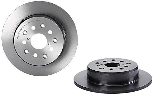 Sc400 Rear Brake (Brembo 08.A038.11 UV Coated Rear Disc Brake Rotor)