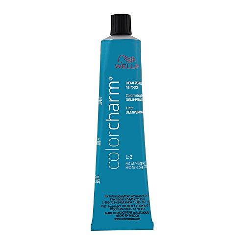 Wella Color Charm Demi-Permanent Haircolor 1:2 4N 4/0 Medium Natural Brown