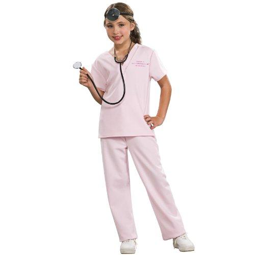 Pink Veterinarian Girls Costumes (Pink Vet Girl Costume)