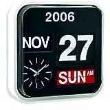 Large Number Wall Hanging Flip Clock / Calendar
