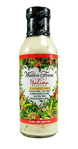 - Walden Farms Calorie Free Dressing Italian - 12 Fl Oz (Creamy Italian)
