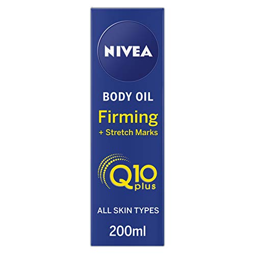 - NIVEA Q10 Body Oil, Firming Plus Stretch Marks, 200 ml