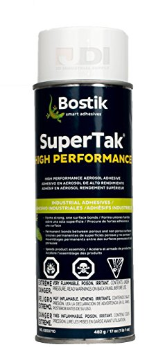 Bostik High Performance Super Tak Aerosol Spray Adhesive (17 oz.) (7 Pack) by Bostik (Image #1)