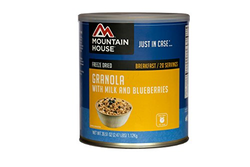 Mountain House Granola with Milk & Blueberries #10 Can