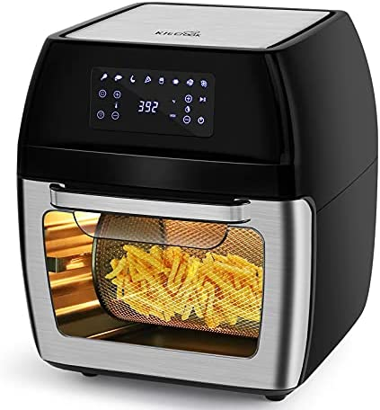KitCook Large Air Fryer, 12.7 Quart Air Fryer Oven,Multi-Use Air Fryer for Rotisserie, Roast, Broil, Bake, Reheat & Dehydrate